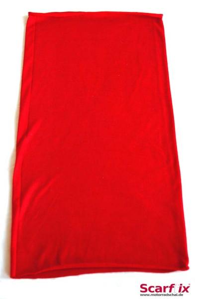 Schlauchschal rot uni