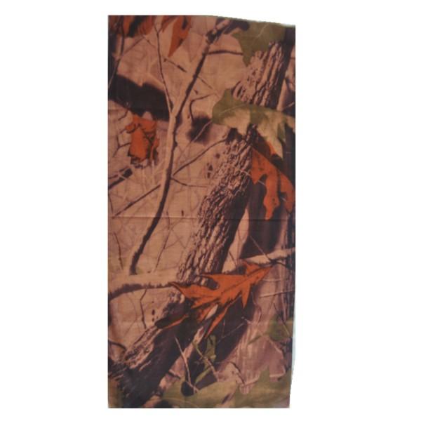 Schlauchschal Herbst Laub braun