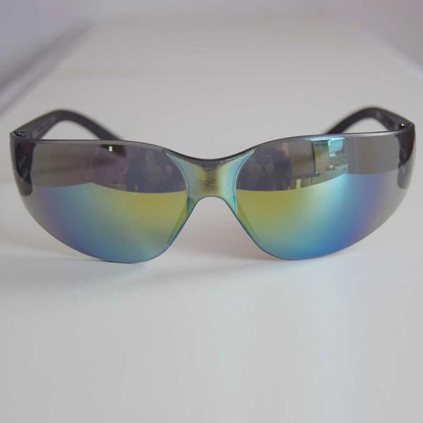 Sonnen- und Schutzbrille gold blue mirrow ultraleicht und flexibel