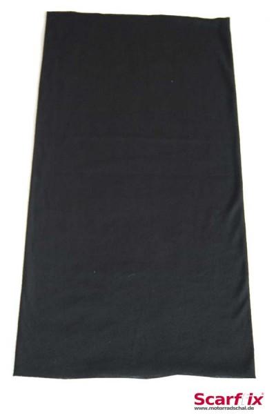 Schlauchschal schwarz uni