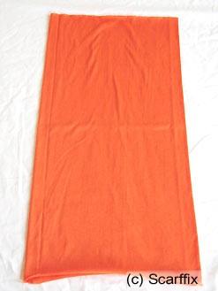 Schlauchschal orange uni