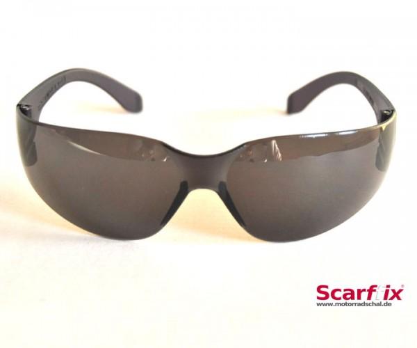Bikerbrille schwarz
