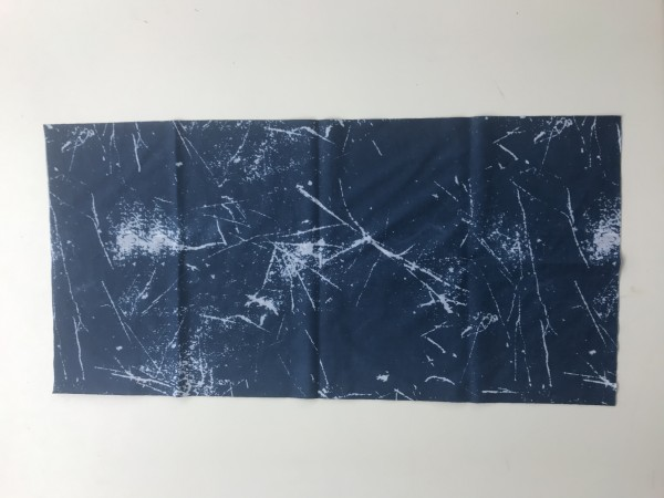 Schlauchschal Meliert blau