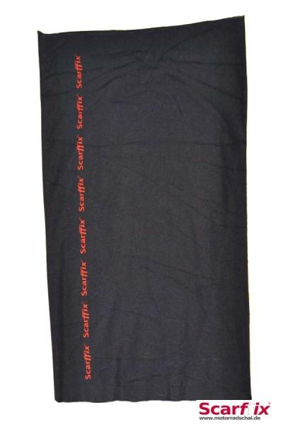Schlauchschal Scarffix Logo auf schwarz
