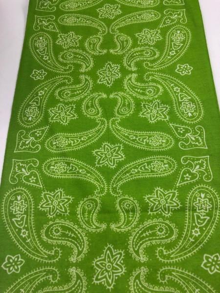 Schlauchschal Paisley Grün