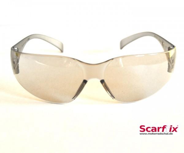 Sonnen- und Schutzbrille grau ultraleicht und flexibel