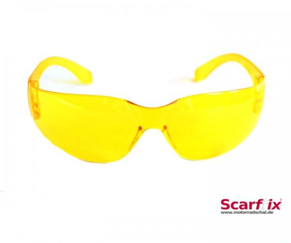 Bikerbrille gelb