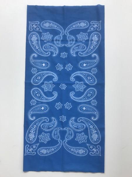 Schlauchschal Paisley Hellblau