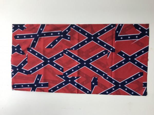 Schlauchschal Südstaatenflagge